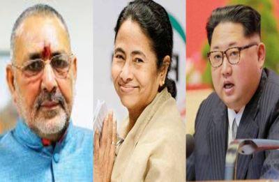 Like North Korea's Kim, Mamata kills her opponents: BJP's Giriraj Singh