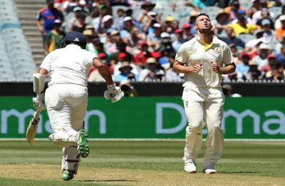 Mitchell Marsh booed by Melbourne crowd in Boxing Day Test vs India