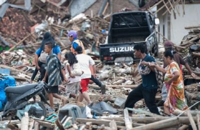 Indonesia tsunami jittery continues, death count rises to 429