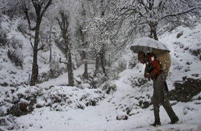 Cold wave intensifies in Kashmir, Leh shivers at minus 17.1 degrees Celsius