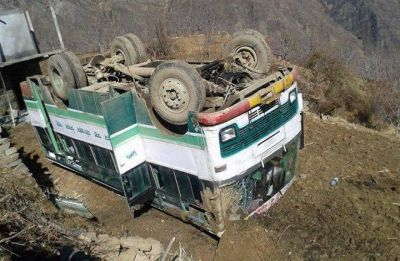 2 dead, 25 injured as HRTC bus falls into gorge in Himachal Pradesh
