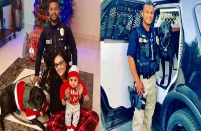 Just hours after taking Christmas photos with his wife and son, Indian-origin cop shot and killed in California