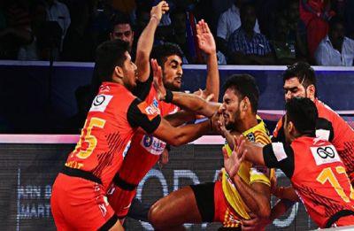 Pro Kabaddi league: Bengaluru Bulls seal final spot in PKL, beats Gujarat Fortunegiants 41-29