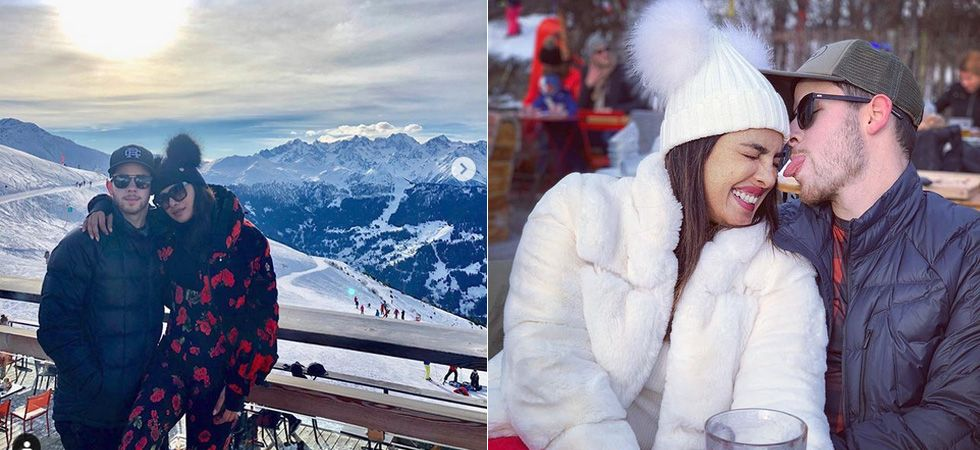 Priyanka Chopra and Nick Jonas  have a gala time in Switzerland/ Image: Instagram