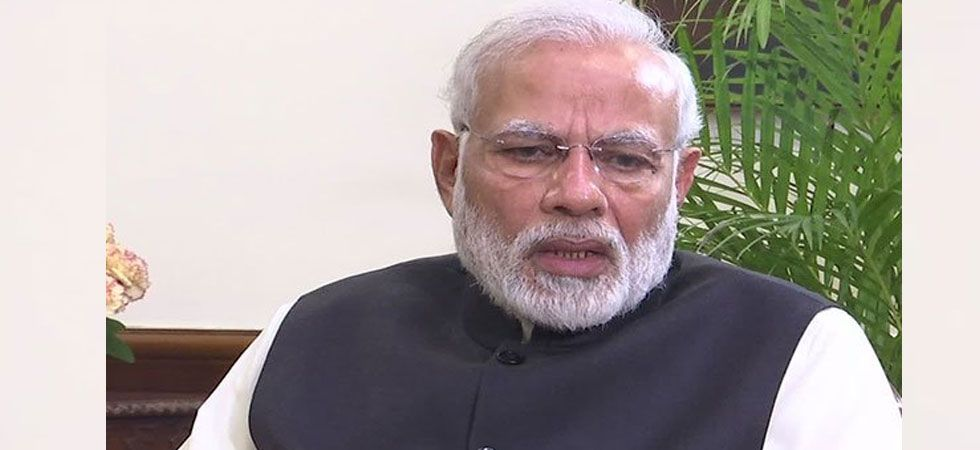 PM Modi refuses to bring Ordinance on Ram Temple before legal process gets over. (ANI Photo)