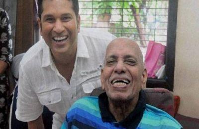 Sachin Tendulkar's coach Ramakant Achrekar dies in Mumbai aged 86
