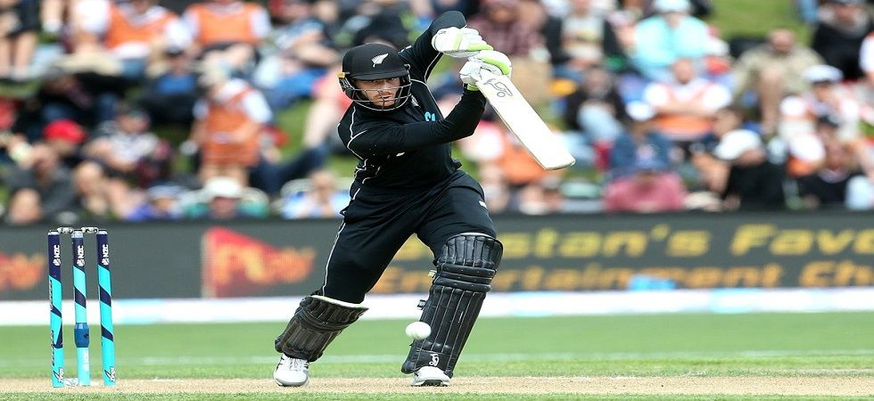 Martin Guptill went past 6000 ODI runs, making him the fifth New Zealand player to achieve this feat. (Image credit: Twitter)