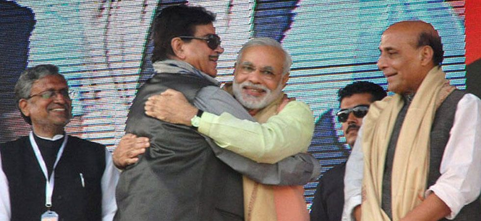 Shatrughan Sinha also questioned PM Narendra Modi over the allies leaving the NDA. (File Photo: PTI)