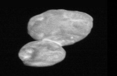 Shaped like a 'snowman', NASA releases first images of faraway world Ultima Thule