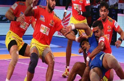 Pro Kabaddi League: Gujarat Fortunegiants beat UP Yoddha by 38-31