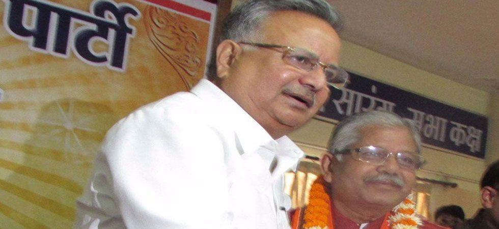 Dharam Lal Kaushik is an MLA from Bilha constituency of Chhattisgarh. (File Photo)