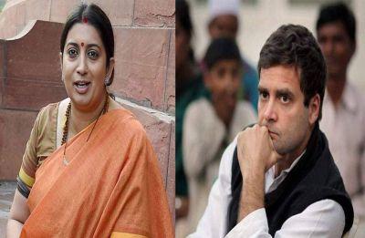 Lok Sabha Elections 2019: Stage set for Rahul Gandhi-Smriti Irani faceoff in Amethi