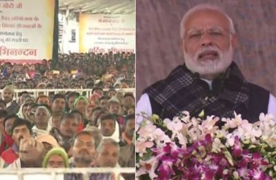 Modi in Jharkhand: Farmers vote bank for Congress, food providers for BJP