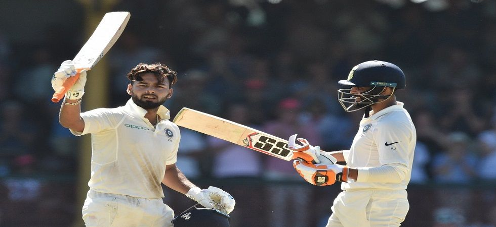Rishabh Pant's aggressive century and epic sledging has made him a favorite in Australia. (Image credit: Twitter)