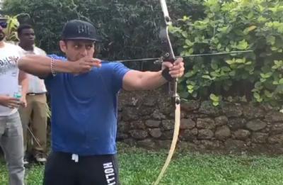 WATCH Salman Khan as real Robin Hood Pandey, shows off his hidden archery skills