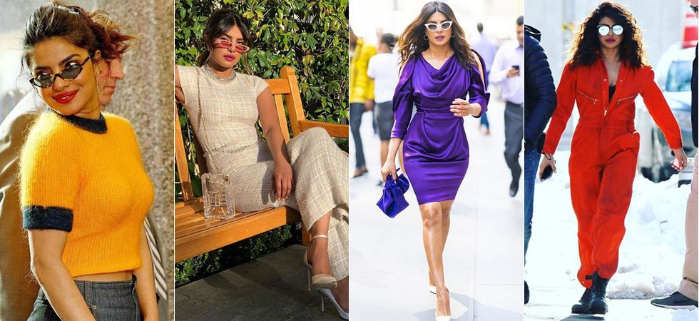 Priyanka Chopra happens to don the coolest shades! Image: Instagram