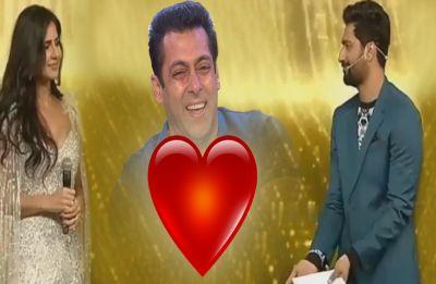 WATCH: Vicky Kaushal asked Katrina 'Mujhse Shaadi Karogi', Salman Khan stole his thunder with crazy antics