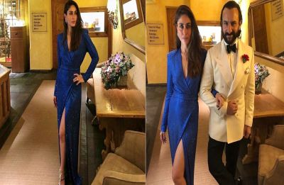 Kareena Kapoor's blue slit gown is insanely pricey, can you guess its cost?