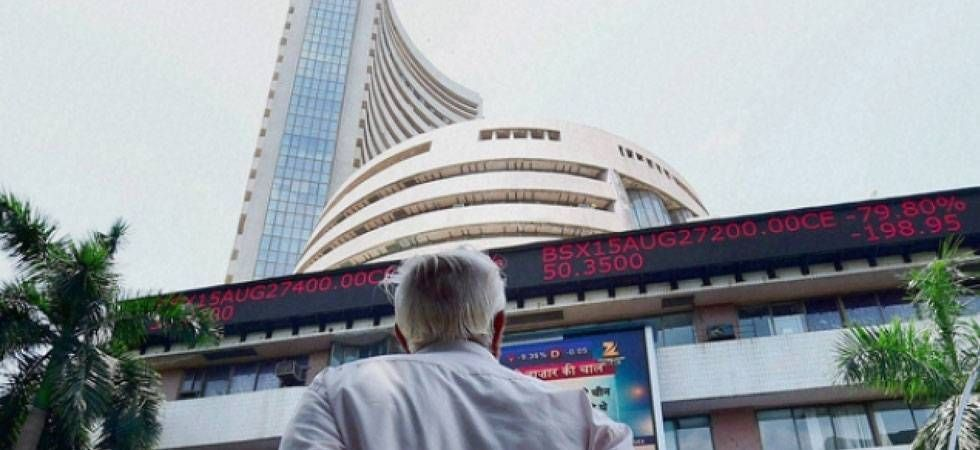 The BSE benchmark Sensex rose by about 288 points and the NSE Nifty claimed the 10,800 mark, in early trade on Monday