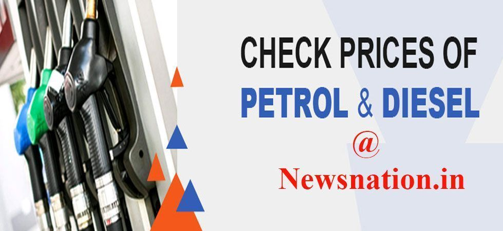 In Kolkata, the prices of petrol were at Rs 70.64 per litre and diesel at Rs 64.01 per litre