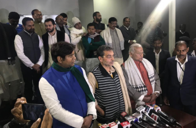 'Mahagathbandhan' meeting in Bihar concludes, Kushwaha says parties discuss seat-sharing arrangement