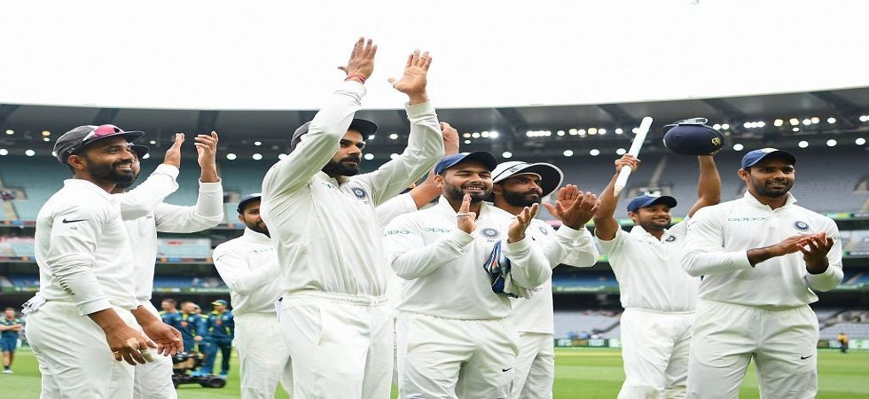 Virat Kohli's Indian cricket team broke 71 years of pain to win a Test series in Australia for the first time ever. (Image credit: Twitter)