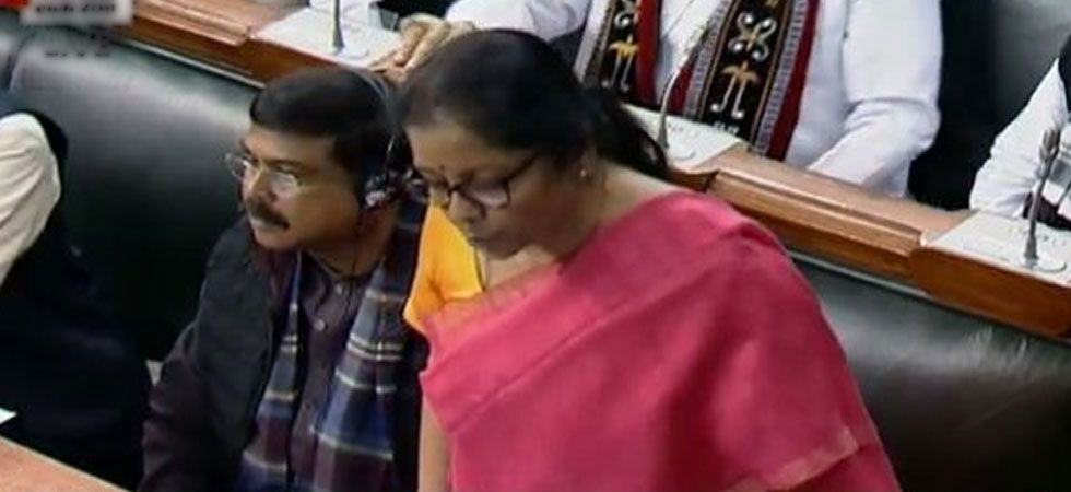 Union Defence Minister Nirmala Sitharaman speaking about the HAL contracts issue in the Lok Sabha.