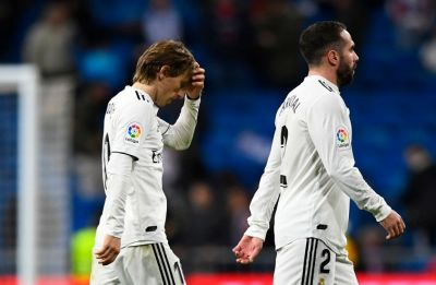 Real Madrid fall 10 points behind Barcelona after shock defeat to Real Sociedad in La Liga