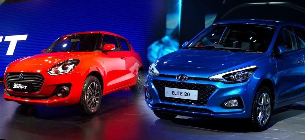Hyundai i20 Elite beats Maruti Suzuki Swift in total sales in December (Twitter)