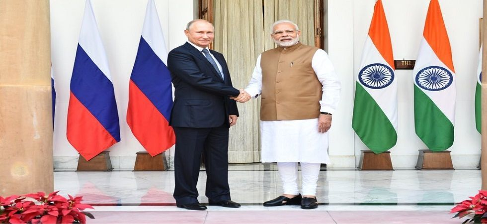 PM Modi, Putin hold telephonic conversation (file photo)