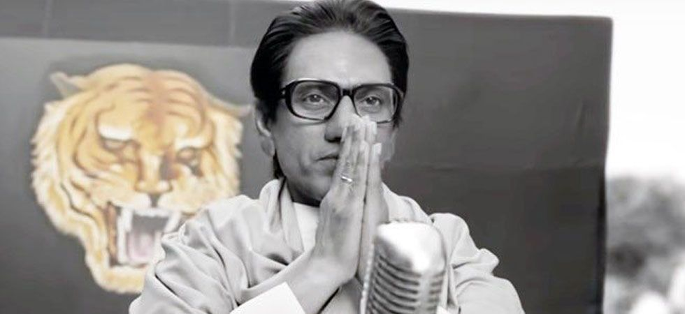 Nawazuddin Siddiqui is playing the role of Balasaheb Thackeray in Sanjay Raut directorial/ Image: Film poster