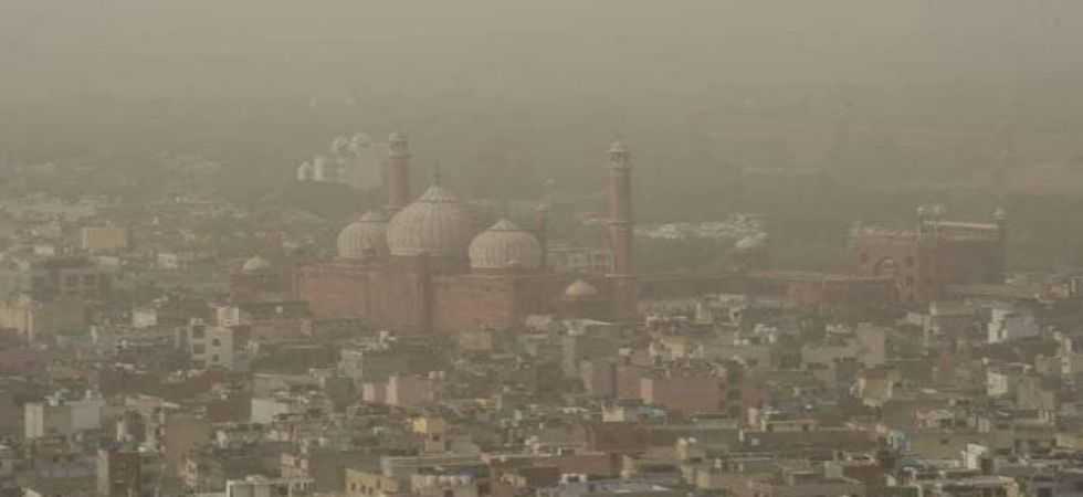 At the Major Dhyan Chand National Stadium area, PM 2.5 was at 312 and PM 10 at 258