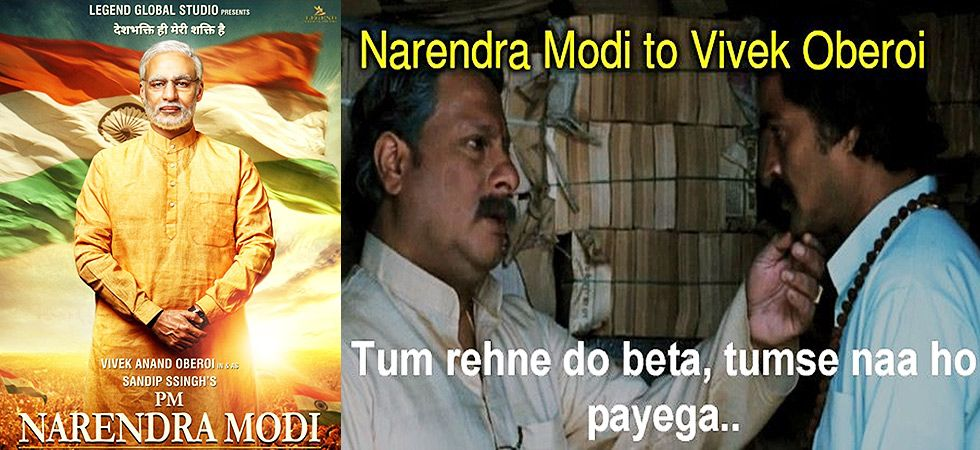 Vivek Oberoi unveiled the first look of his portrayal as Prime Minister Narendra Modi but is escalated into a meme-war! Image: Instagram