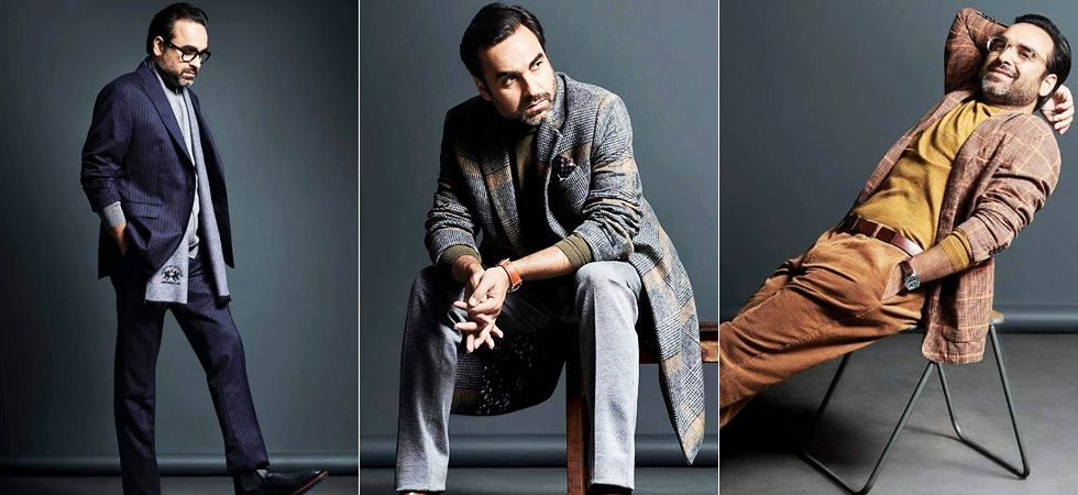 Pankaj Tripathi oozing out glamour and happy vibes altogether in his latest Photoshoot/ Image: The Man