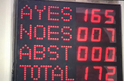 Rajya Sabha passes 10% Quota Bill for economically weaker sections in upper castes, PM Modi is 'delighted'