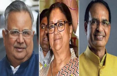 BJP appoints Shivraj Singh Chouhan, Raman Singh, Vasundhara Raje as party vice presidents