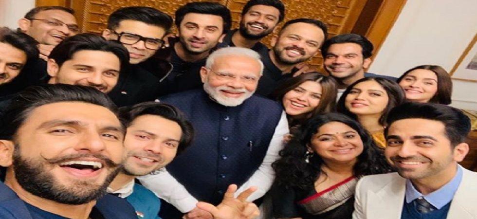 Ranveer, Alia and other Bollywood stars meet PM Modi (Instagram)