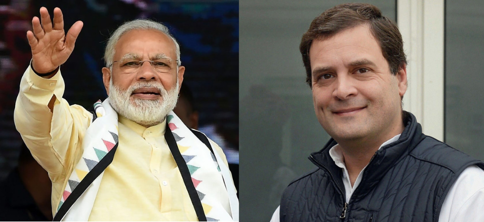 Prime Minister Narendra Modi and Congress president Rahul Gandhi. (File Photo)