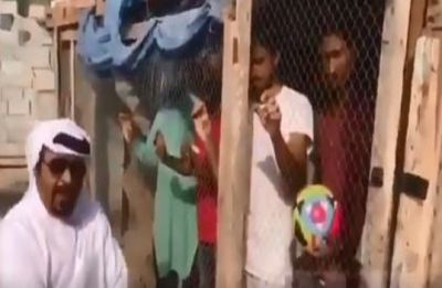Watch video: UAE man locks up Indian football supporters in bird cage before AFC Asian Cup clash