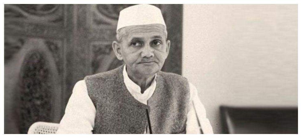 India's second Prime Minister Lal Bahadur Shashtri