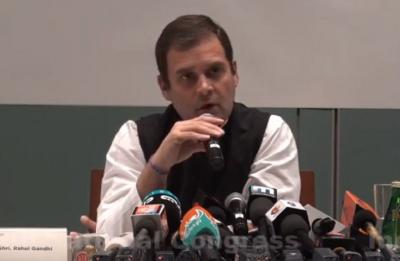 Rahul Gandhi reacts to SP-BSP alliance, says he has tremendous respect for Akhilesh, Mayawati