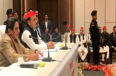 Akhilesh Yadav, Mayawati announce SP-BSP alliance for 2019 Lok Sabha polls, to contest 38 seats each in UP