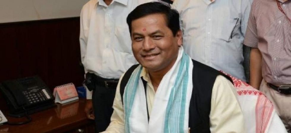 Assam Chief Minister Sarbananda Sonowal.