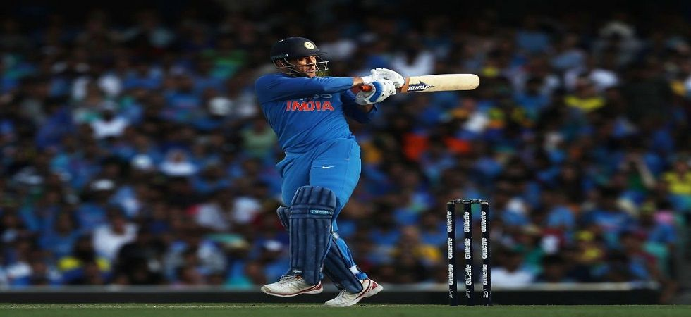 MS Dhoni slammed his 68th fifty but he fell for 51 as Australia secured a 34-run victory in the Sydney ODI against India. (Image credit: BCCI Twitter)