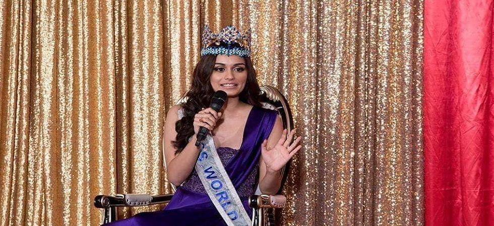 Manushi Chillar to make her Bollywood debut ? (Photo: Twitter)