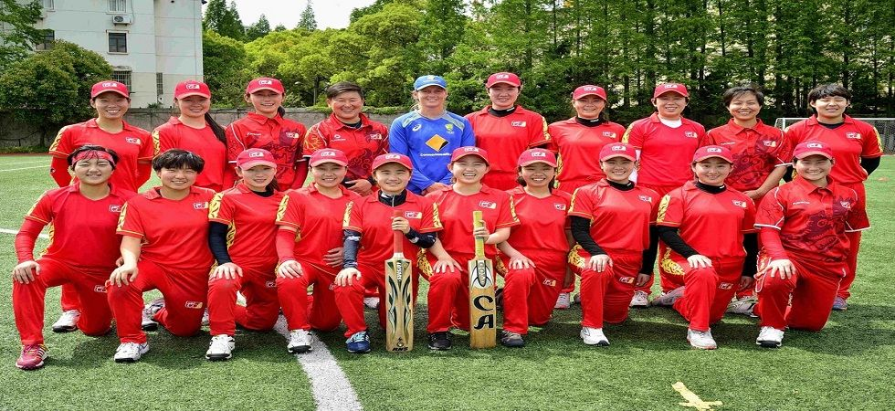 China's women's cricket team was bundled out for 14 in 10 overs, the lowest score in T20 cricket. (Image credit: Twitter)