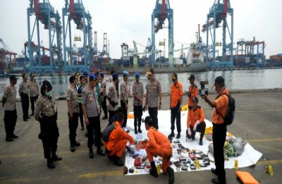 Indonesia finds Lion Air jet's cockpit voice recorder, human remains in Java Sea