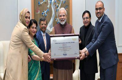 PM Narendra Modi receives first-ever Philip Kotler Presidential Award