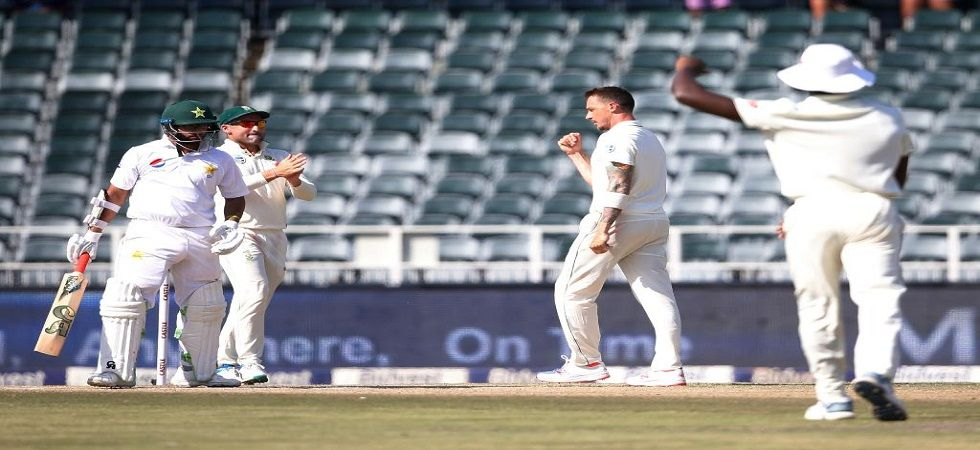 South Africa are in a strong position against Pakistan in the third and final Test in Johannesburg. (Image credit: ICC Twitter)