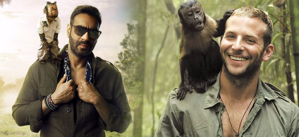 The makers of Total Dhamaal have released the first look of actor Ajay Devgn and his co-star Crystal, the monkey./ Image: Instagram